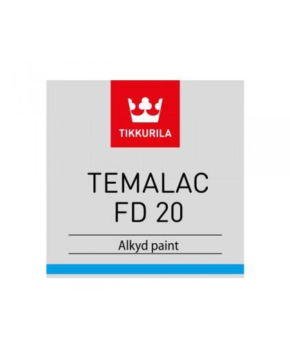 Алкидная краска Tikkurila Temalac FD 20, 50, 80 (Темалак ФД 20, 50, 80)