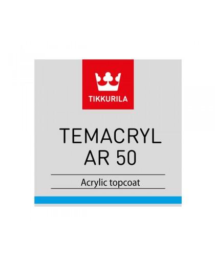 Акриловая стойкая краска Tikkurila Temacryl AR 50 (Темакрил АР 50)