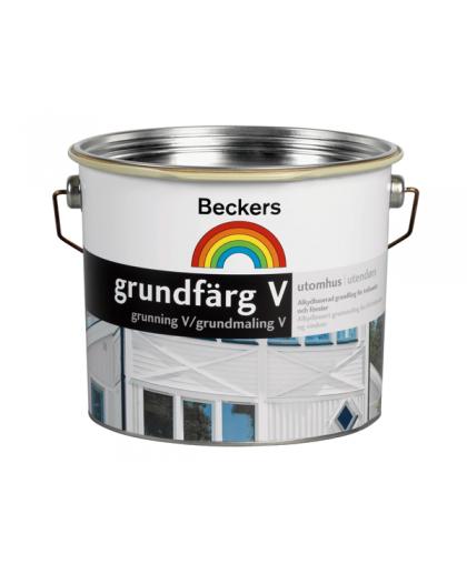 Водный алкидный грунт для деревянных фасадов Beckers Grundfarg V