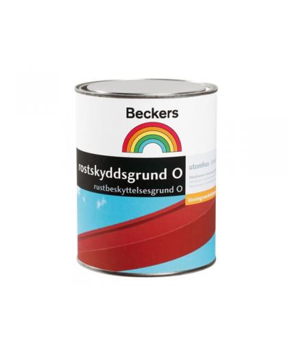 Антикорозийная краска-грунт Beckers Rostskyddsgrund o Rod