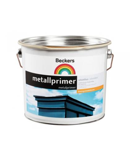 Алкидная грунтовочная краска Beckers Metallprimer