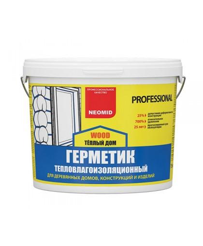 Акриловый герметик по дереву Neomid Wood Professional (Неомид Теплый Дом)