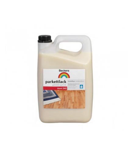 Водный лак для паркета без запаха Beckers Parkettlack 80 Blank