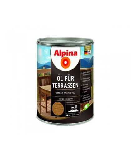 Масло для дерева Alpina Ol Fur Terassen (Альпина)