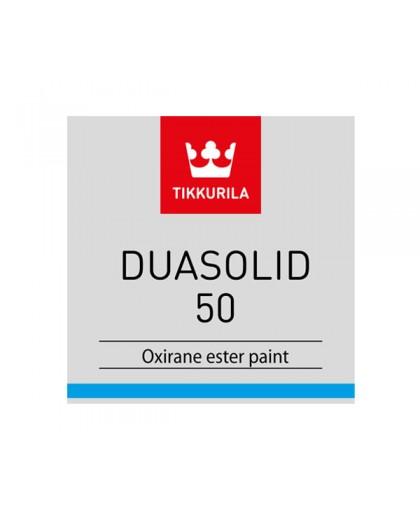 Двухкомпонентная оксираноэфирная краска Tikkurila Duasolid 50 (Дуасолид 50)