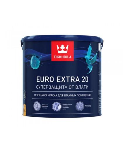 Краска Tikkurila Euro Extra 20 (Евро Экстра 20)