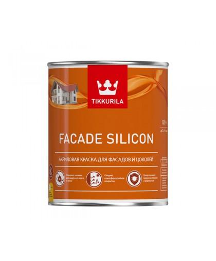Акриловая фасадная краска Tikkurila Facade Silicon (Фасад Силикон)