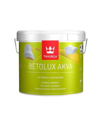 Краска для пола без запаха на водной основе Tikkurila Betolux Aqua (Бетолюкс Аква)