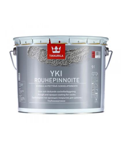 Грубозернистое покрытие Tikkurila Yki Rouhepinnoite (Юки)
