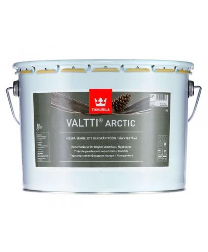 Перламутровая фасадная лазурь Tikkurila Valtti Arctic (Валтти Арктик)