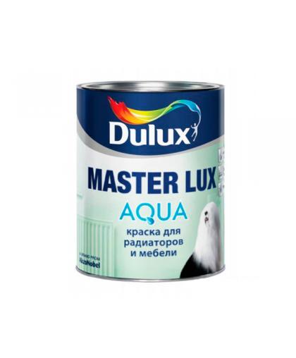 Аква эмаль Dulux Master Lux Aqua 40 полуматовая