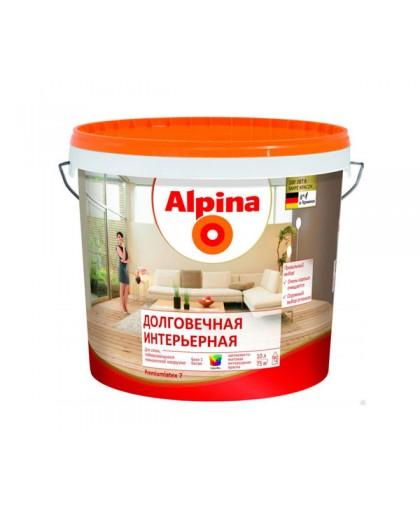 Долговечная интерьерная краска Alpina (Альпина)
