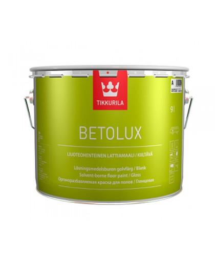 Краска для пола Tikkurila Betolux (Бетолюкс)