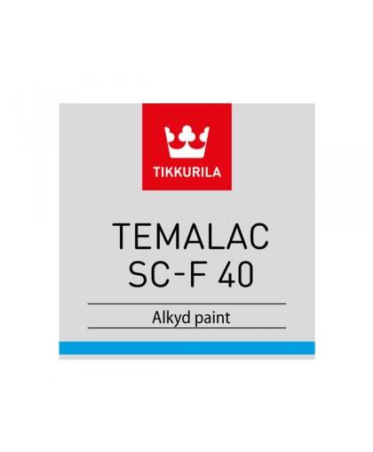 Алкидная краска Tikkurila Temalac SC-F 40 (Темалак СЦ-Ф 40)