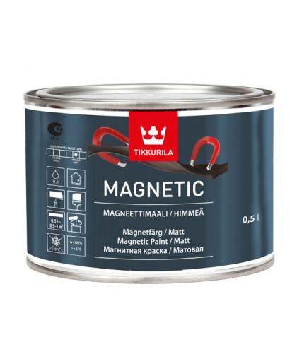 Магнитная краска Тиккурила Магнетик (Magnetic)