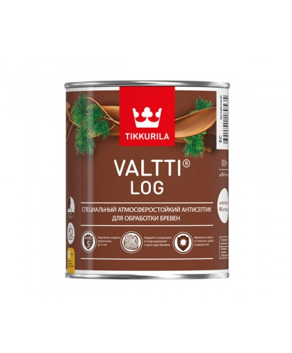 Атмосферостойкий антисептик Tikkurila Valtti Log (Валтти Лог)