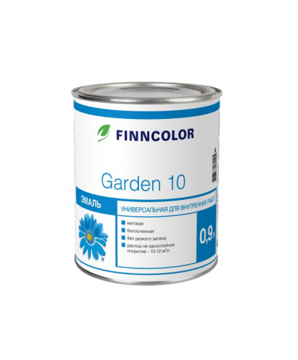 Алкидная эмаль Finncolor Garden 10, 30, 90