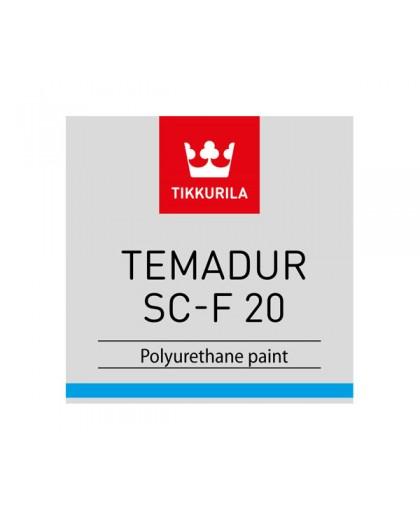 Двухкомпонентная полиуретановая краска Tikkurila Temadur SC-F 20, 50, 80 (Темадур СЦ-Ф)