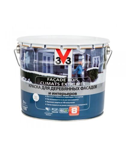 Краска для деревянных фасадов и интерьеров V33 Climats Extremes
