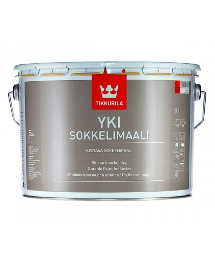 Краска для цоколя Тиккурила Юки (Tikkurila Yki)