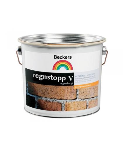 Водоотталкивающее пропитывающее средство для фасадов Beckers Regnstop-V