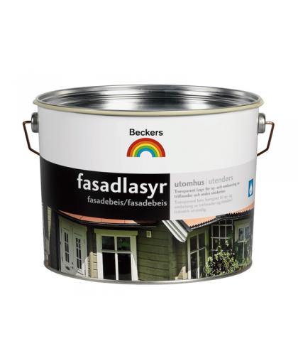 Алкидная краска-масло для дерева Beckers Fasadlasyr