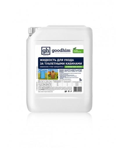 Жидкость по уходу за туалетными кабинами GOODHIM BIO-T PROF (концентрат)