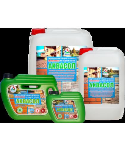 Аквасол 1 л (водная гидрофобизирующая пропитка)