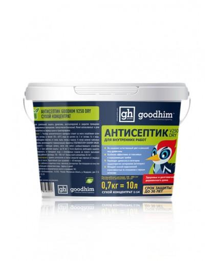 Антисептик для внутренних работ GOODHIM V250 DRY (сухой концентрат 1:14)