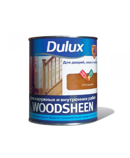 ГОТОВЫЕ ЦВЕТА Лак морилка Dulux Woodsheen (Вудшин)