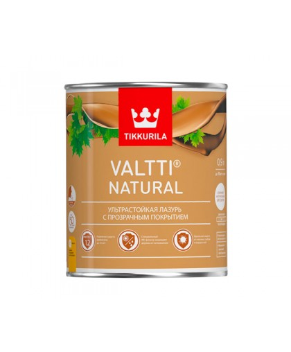 Прозрачная лазурь Tikkurila Valtti Natural (Валтти Нэчурал)
