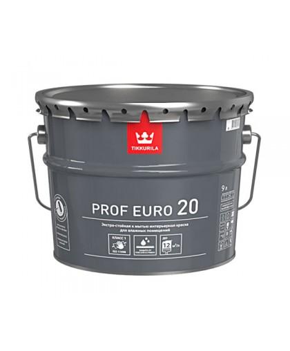 Краска Tikkurila Prof Euro 20 (Проф Евро 20)