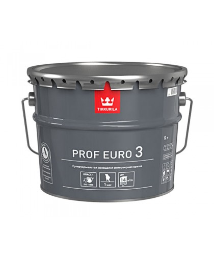 Краска Tikkurila Prof Euro 3 (Проф Евро 3)