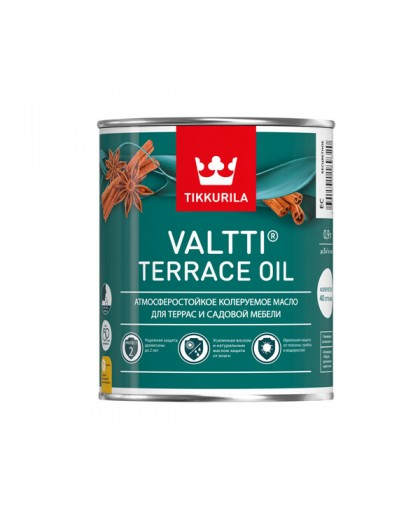 Масло для террас Tikkurila Valtti Terrace Oil (Валтти Террас Оил)