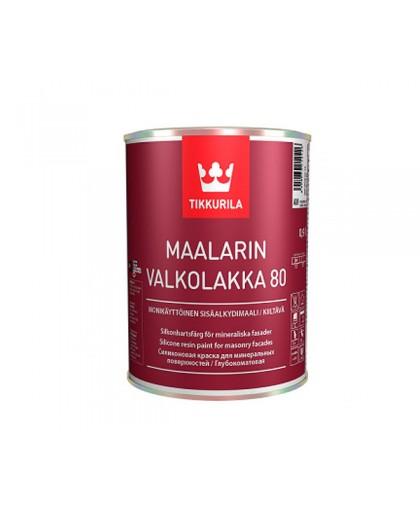 Алкидная эмаль Tikkurila Maalarin Valkolakka (глян., п/.мат)