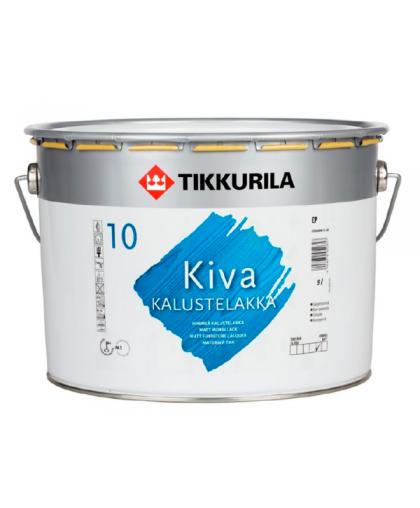 Износостойкий лак для стен и мебели Tikkurila Kiva 10, 30, 50, 70 (Кива)