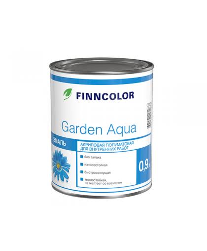 Акриловая эмаль Finncolor Garden Aqua (Гарден Аква)